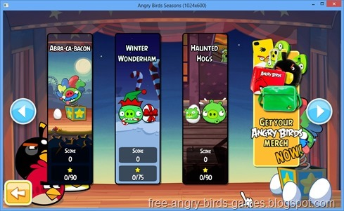 Free Download Angry Birds Seasons v3.3.0 PC Games