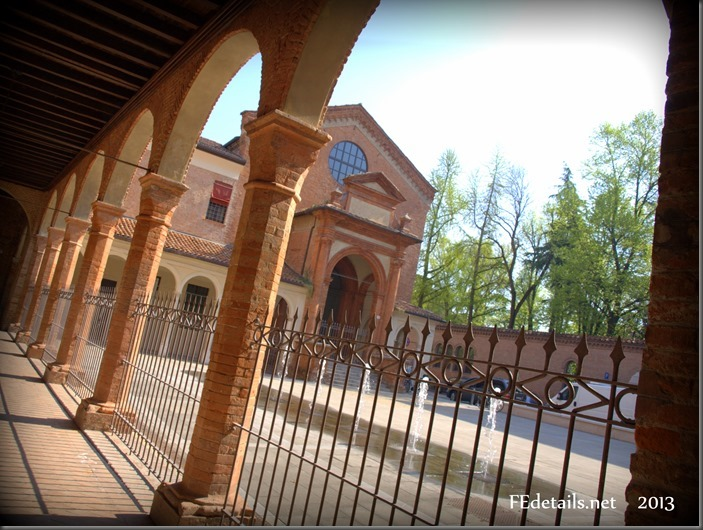 Piazzetta Sant'Anna, Foto3, Ferrara, Emilia Romagna, Italia - Sant'Anna Square, Photo3, Ferrara, Emilia Romagna, Italy - Property and Copyrights of FEdetails.net (c)