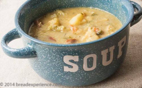 Making Lentil & Potato Soup My Way