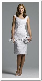 Vestido Elegante para Boda Civil