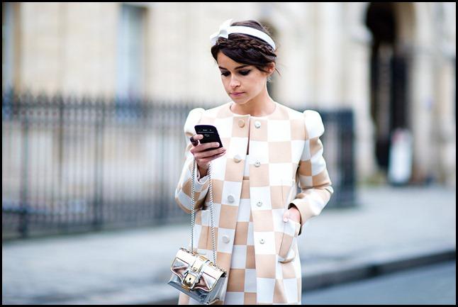 Miroslava-Duma-JeanPaulGaultier-Spring-2013-Louis-Vuitton-chekerboard-print