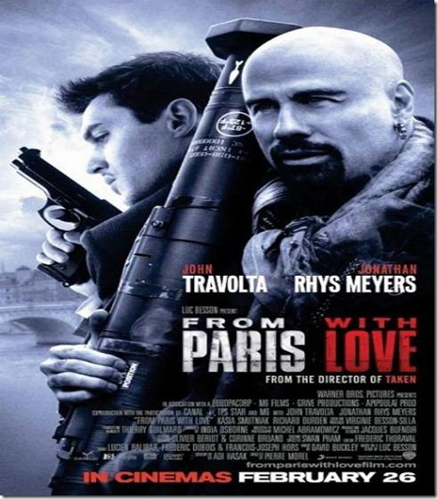 ดูหนังออนไลน์ From Paris with Love คู่ระห่ำ ฝรั่งแสบ [HD Master]