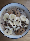 FRIDAY: Elvis oatmeal! Stir in some milk and chocolate chips when reheating the oatmeal, then top with a sweet, ripe banana and some peanut butter. Top with more chocolate chips, if it's been a long week.