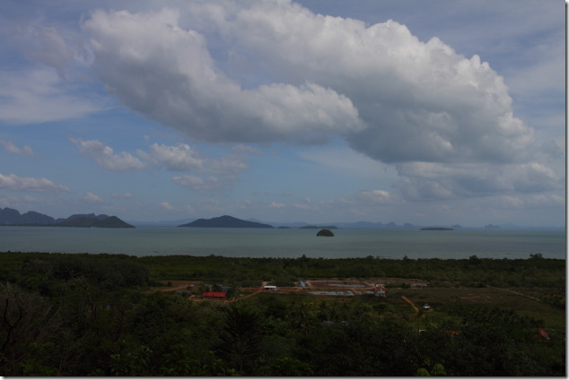 Ko Lanta's eastern islands from the view point restaurant
