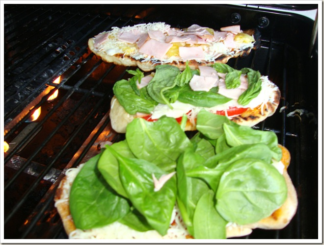 Grilled Pizza 140
