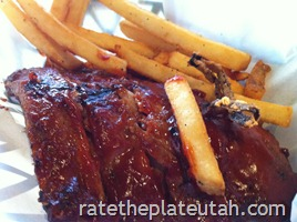 Chili's Half Rack Baby Back Ribs