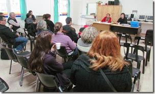 El acto tuvo lugar en el Centro Comunitario del barrio Parque Golf en Santa Teresita