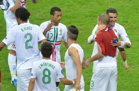 hasil pertandingan babak perempat final euro 2012 22 juni 2012 Portugal vs Ceko skor 1-0 untuk keunggulan Portugal