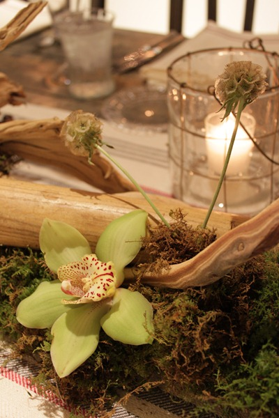 Hello Darling - Organic   Vintage Sports Bar Mitzvah, branches and orchid