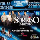 Sorriso Maroto se apresenta sábado, dia 21 no Kartódromo Arena Brasil Kirin, em Itu