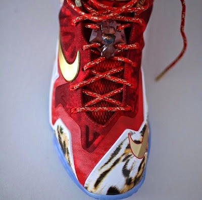nike lebron 11 gr 2k14 5 05 The Nike LeBron 11 NBA 2K14 Has Arrived! Check Your Mail.