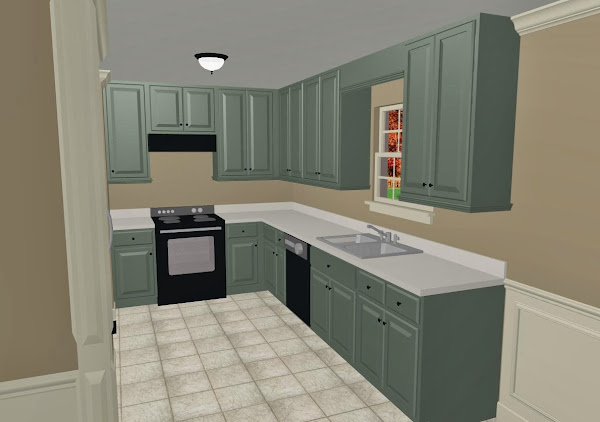 11633d1246369998 What Color Paint Kitchen Cabinets Eucalyptus Kitchen Cabinet Colors
