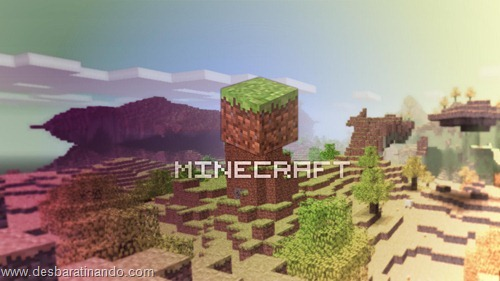 wallpapers minecraft 8 bit pixelados desbaratinando  (10)