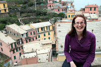 Kristy at Vernazza
