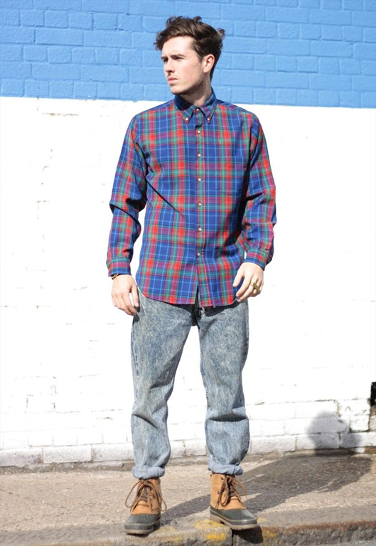 Vintage Pendleton Wool Check Shirt, £35, Sam Greenberg Vintage