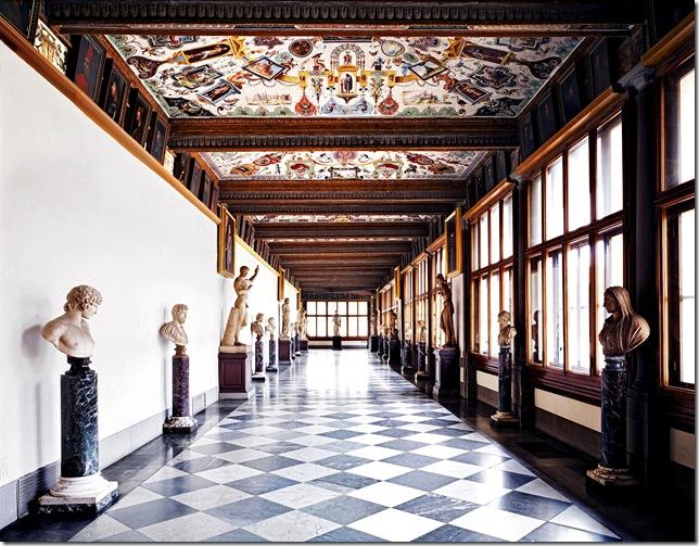 Candida Höfer X_Uffizi_Firenze_II_