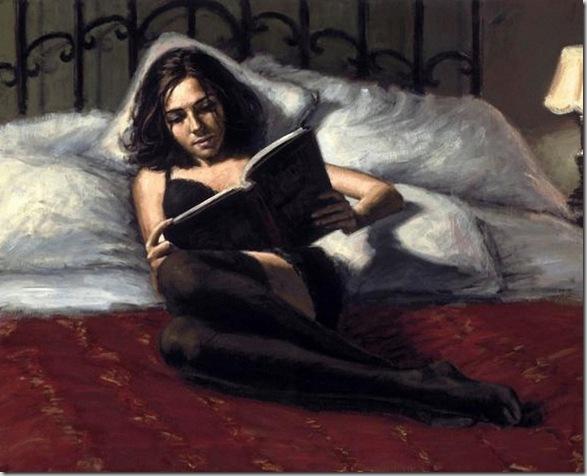 Fabian Perez 1967 - Argentine Figurative painter - Reflections of a Dream - Tutt'Art@ (32)