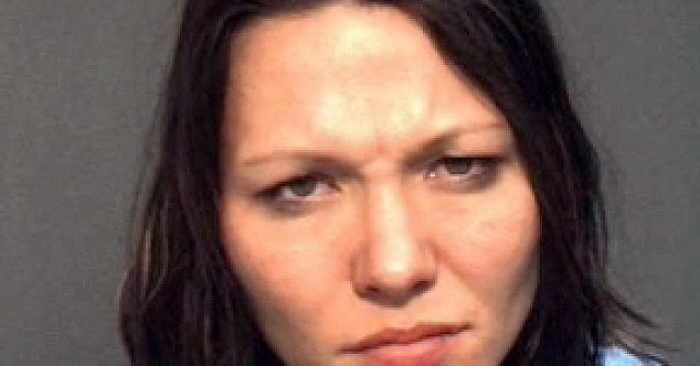 Naked Florida woman Amie Carter arrested for sex act in