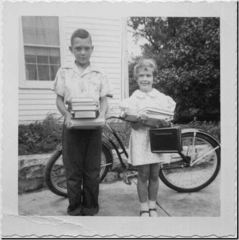 First Day of School 1952