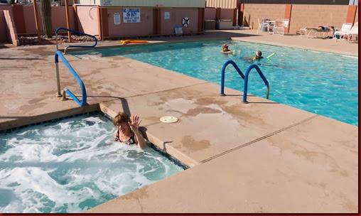 Ann in Pool (1 of 1)