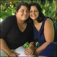Michelle e Thayse já planejam o segundo filho (Foto: Humberta Carvalho/G1)