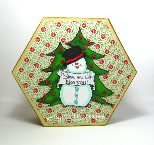 Oakpond Creations - Say what snowman - Ruthie Lopez - Gift Box 3