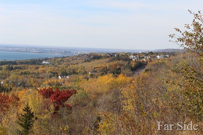 View of Duluth from Hawk Ridge