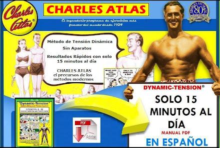 MÉTODO DE TENSIÓN DINÁMICA, Charles Atlas [ Curso ] – El famoso Método Charles Atlas de ejercicios fisicos sin pesas ni aparatos