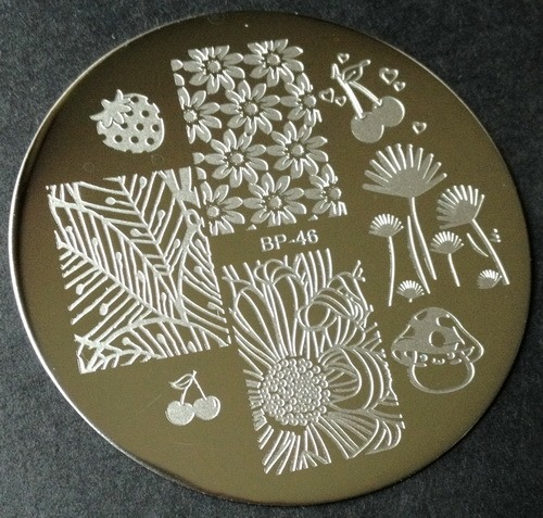 BP-46 nail stamping plate from BornPrettyStore