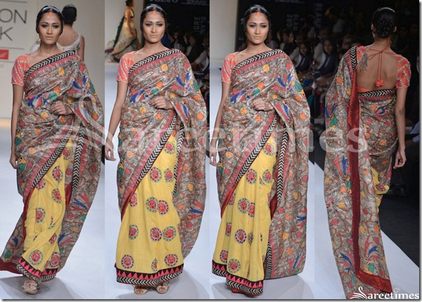 Agnimitra_Paul_Half_And_Half_Sari