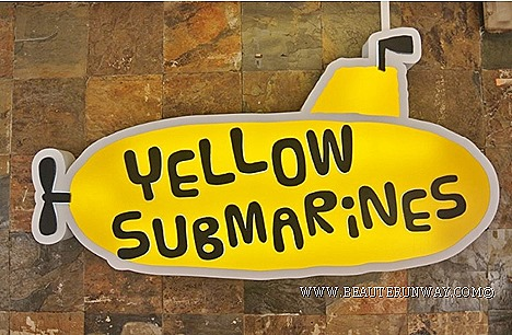 Yellow Submarines Cheesesteaks Singapore American Style casual dining take-away fast food restaurant Classic Beef Submarines, Oregano Chicken, Tuna Fish, Chic Mango Chicken, M-1 MushroomVegetarian, Single hit beef Twin Strike Chicke