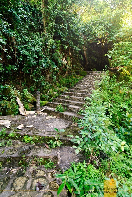 The Old Stone Steps at Pangasinan's Bolinao Falls