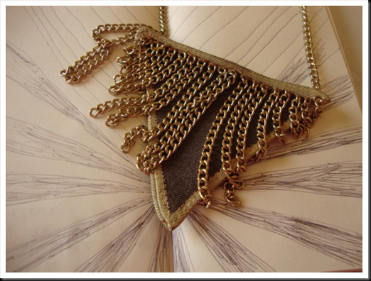 triangle pendant chains