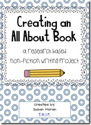 Creating an ALL ABOUT book TGIF