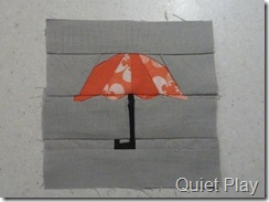 Orange brolly