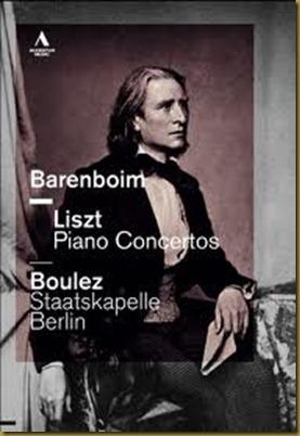 Boulez Barenboim Liszt Accentus DVD