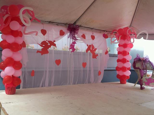 Mbv decorations san valentine for Decoracion amor y amistad