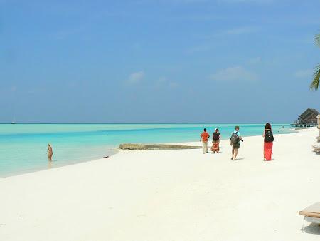 Hotel Anantara Dhigu Maldives: white beach