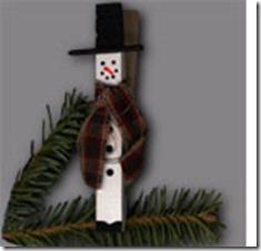 manualidades navidad ganchos de ropa