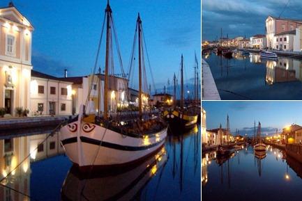Visualizza Cesenatico Porto canale leonardesco