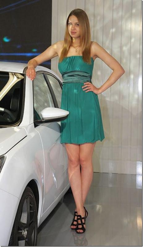 Belos carros e garotas no salão do automovel em Frankfurt (27)