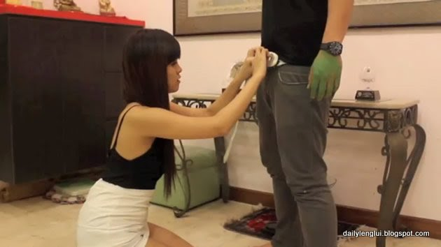 Peggy Heng faux BJ video