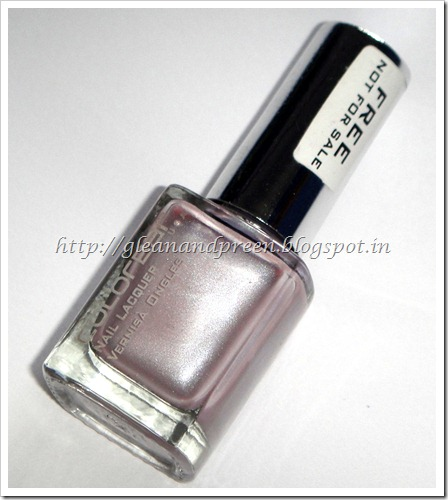 Colorbar nail Lacquer Exclusive 30