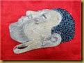 Topeng Budha - samping