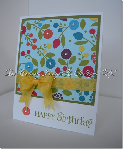 Summer Smooches 5 minute card 003