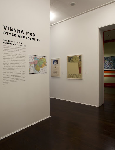 Vienna 1900: Style and Identity was the name of the exhibition on display when I visited in early August.