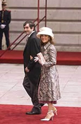 Antonio Muñoz Molina con su esposa Elvira Lindo.