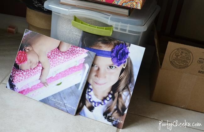 Craft Booth: DIY Foam Board Photo Display