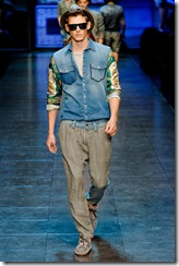 D&G Menswear Spring Summer 2012 Collection Photo 28