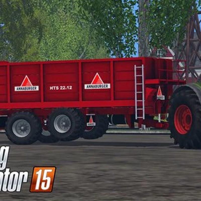 Farming simulator 2015 - Annaburger HTS 22.12 v 1.0